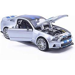AGWa Modellbausimulation Fahrzeugmodell 1: 24 Sportwagen Film Rennwagen Legierung Spielzeugauto Mobilisierung Sammlung