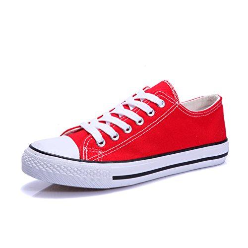 Chaussures en toile noir et blanc/Chaussures basses femme/Les souliers D