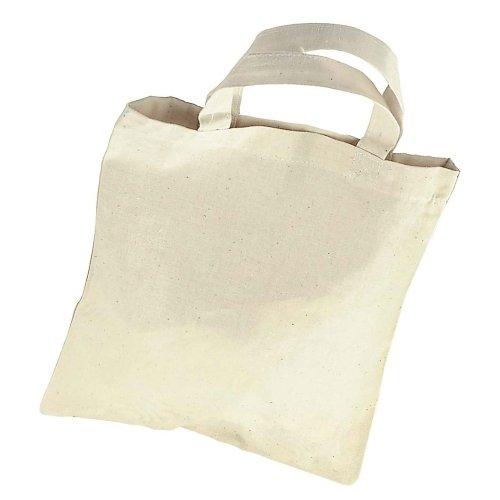 Kleine Einkaufstasche, 22 x 26 cm - zum Bemalen Selbstgestalten