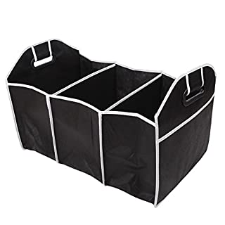 SUNRIS Auto Zubehör Auto Organizer Schwarz Trunk Faltbare Spielzeug Lebensmittel Lagerung LKW Container Taschen Box Auto Verstauen