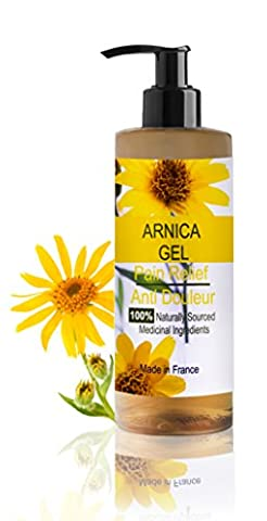 Arnica Gel 100% Natural 500 ml Adults and Children First aid application, Muscle Joint Bump Bruises Sprains Traumatic Injuries Anti Inflammatory Instant Pain Relief A Remedy To Ease Joint Pain- 100% Naturally Sourced Medicinal Ingredients - Olio Sport