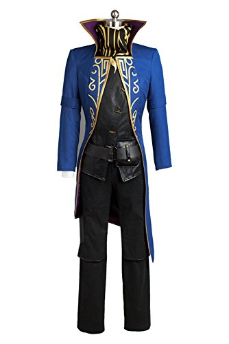Dishonored Emily Drexel Lela Kaldwin Cosplay Kostüm Outfit Uniform Party Kleid Damen (Dishonored Kostüm Halloween)