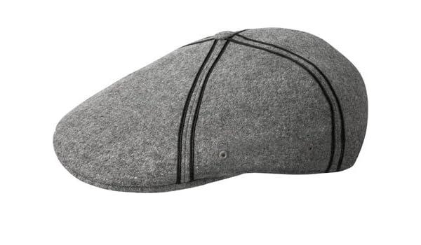 Kangol Hats Melton Flexfit 504 Flat Cap - Grey Large X-Large  Amazon.co.uk   Clothing f7fe098191b0