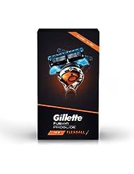Gillette Flexball Pro Glide Gift Pack - Flexball Razor with 4 Flexball Cartridge