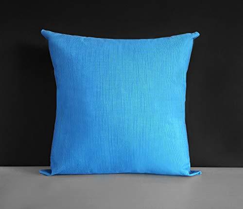 Blue Sunbrella-set (FloradeSweet Gro?e Schwere Marine Sunbrella Outdoor Blue Kissenbezug 18 x 18 Zoll 45 x 45 cm)