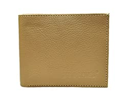 Moochies Gents Leather Wallet, Size-1x5x4, Color-Beige