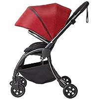 Cochecito de Bebé Ligero Plegable Ultra Ligero Pequeño Paraguas de Dos Vías para Bebés Puede Sentarse