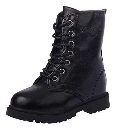 t Boots Halbschaft Schuhe Mädchen Schnürstiefeletten mit Reißverschluss Unisex-Kinder ()