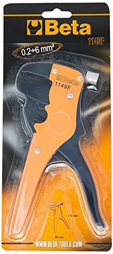 \'Beta 1149F pinza spelacavi frontale, colore: Nero/arancione