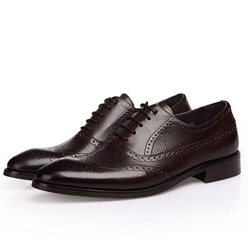Britannico business marea scarpe/Brock incisa-scarpe uomo B