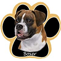 Boxer Dog Paw Non-Slip Mousepad - Uncropped by E&S Pets
