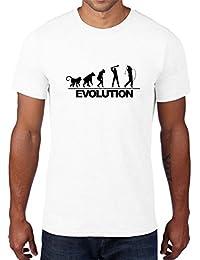 FLOSO - T-shirt Evolution du Golf - Homme