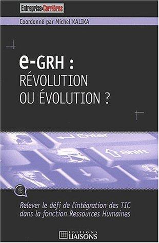 e-GRH : révolution ou évolution ? par Collectif