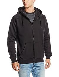 Urban Classics Zip Hoody, Sweat-Shirt àCapuche Homme, Mehrfarbig