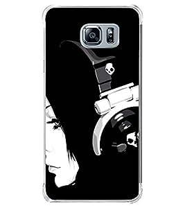 Fuson Headphone Girl Designer Back Case Cover for Samsung Galaxy Note 5 :: Samsung Galaxy Note 5 N920G :: Samsung Galaxy Note5 N920T N920A N920I (Headphones Female Girl)
