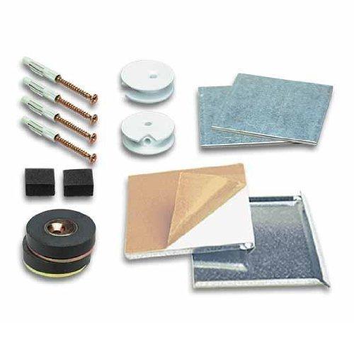 SafemaX 08 Montageset für magnetische Spiegelplatten