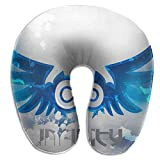 Nifdhkw Multifunctional Neck Pillow Logo U-Shaped Soft Pillows Portable for Sleeping Travel Unisex7