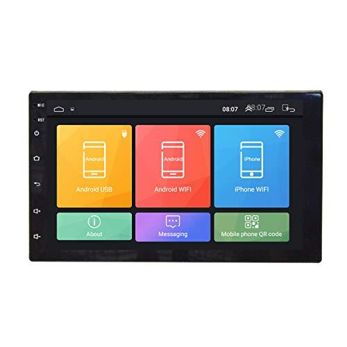 TOOGOO 1 Din Auto Radio 7 Zoll Hd Auto Mp5 Multimedia Player Android 8.1 Autoradio GPS Navigation WiFi Player WiFi + 1G + 16G