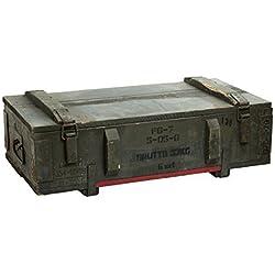 Boîte à munitions PG7 Caisse de rangement env. 80 x 42 x 24 cm (Grand) Boîte Box en bois boîte des Munitions Militaire vin Boîte Pomme Shabby Vintage