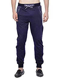 Maniac Printed Men's Black Track Pants