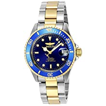 Invicta 8928OB Pro Diver Unisex Wrist Watch Stainless Steel Automatic Blue Dial