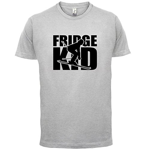 Fridge Kids Ski - Herren T-Shirt - 13 Farben Hellgrau