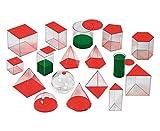 Betzold  86294 Geometrische Volumina, 17 Stück, 6 cm