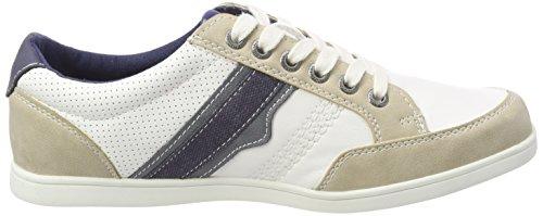 TOM TAILOR Herren 4880204 Sneaker Weiß (White)