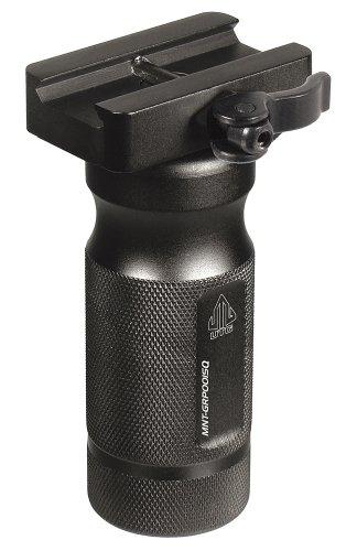 UTG Vordergriff taktischer Frontgriff, 10.4 cm Metall QD Lever Lock Picatinny Montage Schwarz, MNT-GRP001SQ