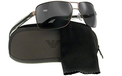 Emporio Armani Wayfarer Sunglasses (Gun Metal) (EA525GR64) image