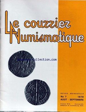 NOUVELLE INFORMATION NUMISMATIQUE (LA) [No 7] du 01/08/1978 - LA MEDAILLE DU LUSITANIA PAR X. ZWINEN.