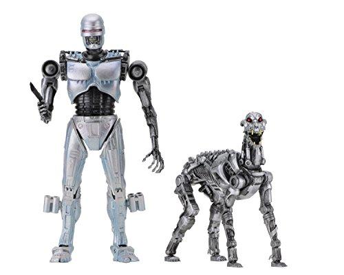 Robocop 42078 Vs Terminator Actionfigur, Silber