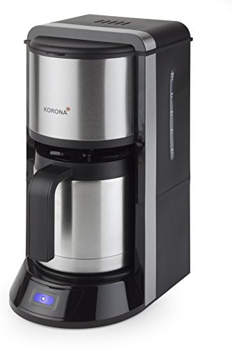 Korona 10291 - Macchina per caffè americano con brocca termica in acciaio INOX