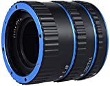 HASTHIP® Metal TTL AF Macro Extension Tube Ring Auto Focus Colorful for Canon EOS EF EF-S 60D 7D 5D II 550D