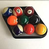 2 BILLARDKUGELN 9 BALL POOL DIAMOND PASSEND F/ÜR UK GR