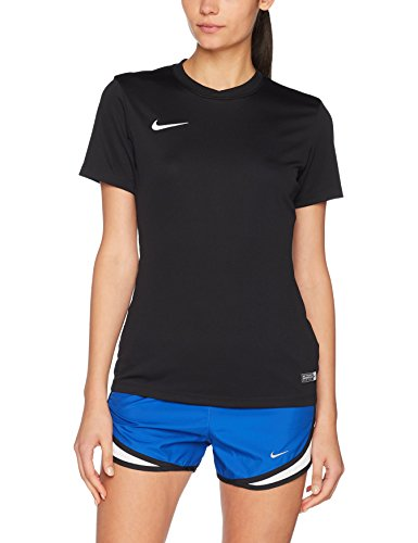 Nike Damen Women\'s Dry Team Park VI Football Jersey T-Shirt, Black/White, M