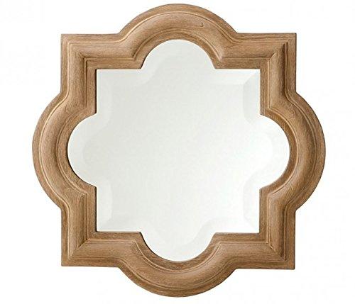 Casa-Padrino-Designer-Luxury-Wall-Mirror-Brown-50-x-H-50-cm-Luxury-Hotel-Mirror