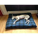 KosiPet® Cheap Budget BLUE CHECK Fleece LARGE SPARE COVER For Dog Bed,Dog Beds,Pet Bed,Dogbed,Dogbeds,Petbed,Petbeds,