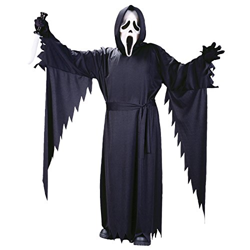 Scream 4 Ghost Face - Teen Classic Costume 13 - 14 (Kostüm Boy Toy Belt)
