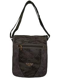 Ruff Messenger Sling Bag For Men Synthetic Leather Trendy Large Sling Bag For Men & Women Daily Use Traveling...