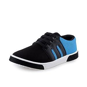 Earton Men Canvas Blue Casual Shoes (Sneakers Shoes)