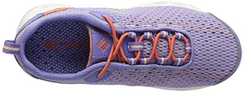 Columbia Youth Drainmaker Iii, Chaussures de Running Compétition Fille Violet (Whitened Violet, Lychee 501)