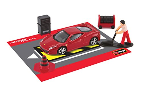 race-and-play-red-ferrari-458-italia-scene-set-143-scale-diecast-model