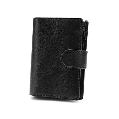 Wennew Brieftasche Karte gefaltet Minirock Brieftasche männliche