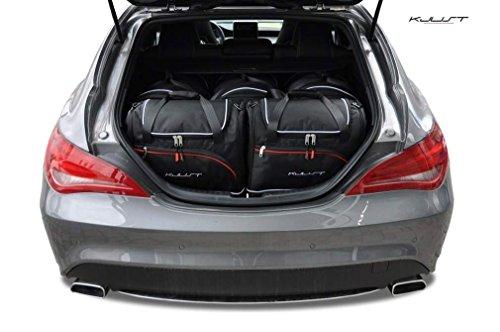 CAR Bags AUTOTASCHEN MASSTASCHEN ROLLENTASCHEN Mercedes CLA Shooting Brake, 2013- - KJUST