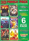 3D Family Pack 6 Movie Pack
