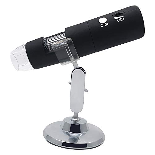 Q&N Sin Cable microscopio Digital 50X 1000X portátil