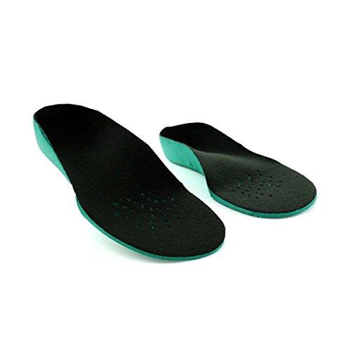 ULTNICE 2Stück-Einlegesohlen, Schuheinlagen, Plattfuß-Korrektur, Gr. 29–31