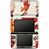 Nintendo 3 DS XL Case Skin Sticker aus Vinyl-Folie Aufkleber Fuchs Vulpes Art