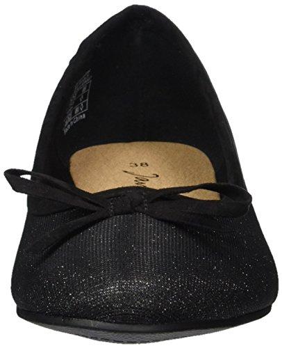 Jane Klain Damen 221 993 Geschlossene Ballerinas Schwarz (Black)